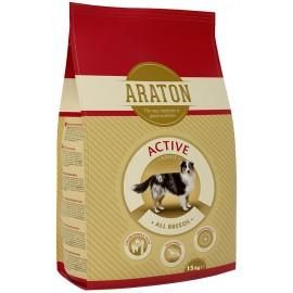 Araton adult active корм для взрослых, активных собак