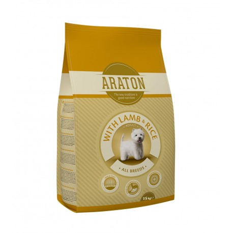 Araton (Аратон) Adult Lamb and Rice - сухой корм для собак с ягнёнкои и рисом