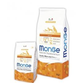 Monge Dog Speciality Duck/Rice All Breeds - сухой корм для взрослых собак всех пород (утка, рис и картофель)
