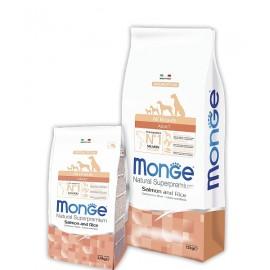 Monge Dog Speciality Salmon/Rice All Breeds - сухой корм для собак всех пород (лосось, рис и картофель)