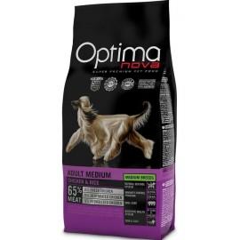 Optima Nova Adult Medium Chicken&Rice - для взрослых собак средних пород с курицей и рисом