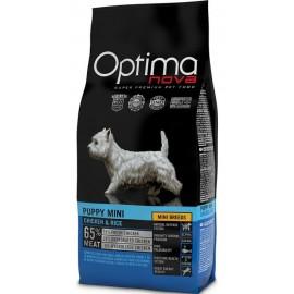 Optima Nova Puppy Mini Chicken&Rice - cухой корм для щенков мелких пород с курицей и рисом