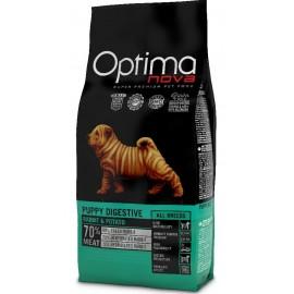 Optima Nova Puppy Digestive Rabbit&Potato - беззерновой корм для щенков с проблемаим ипищеварения с кроликом и картофелем