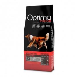 Optima Nova Adult Active Chicken&Rice - сухой корм для взрослых активных собак с курицей и рисом