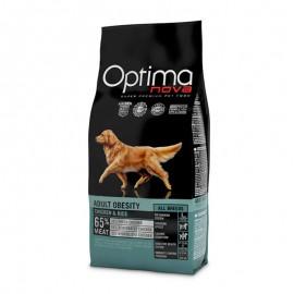 Optima Nova Adult Obesity Chicken&Rice - сухой корм для взрослых собак с избыточным весом с курицей и рисом