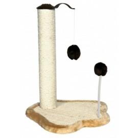 """4295 -Когтеточка """"TRIXIE"""" , столбик с плюшевой мышкой и шариком на пружинке,50см."""