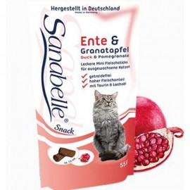 Лакомство для кошек Bosch Sanabelle Cat Sticks Duck Pomegranater, 55г