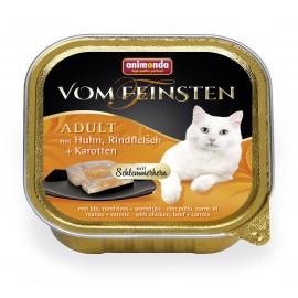 """Animonda Vom Feinsten Adult """"Меню для гурманов"""" с индейкой, говядиной и морковью (100гр), 100г"""