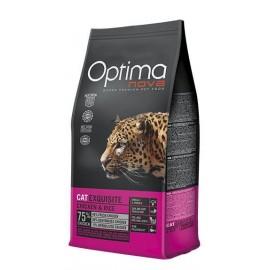 Optima Nova Exquisite Chicken&Rice - сухой корм для привередливых кошек, с курицей и рисом