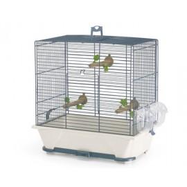"""55065901 ККлетка """"SAVIC"""" """"Primo 30"""" для птиц, 40 x 24 x 42см, темно-синий/бежевый"""