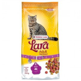 LARA полнорационный сухой корм для стерелизованных кошек, курица