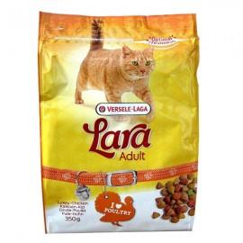 LARA полнорационный сухой корм для кошек, индейка и курица