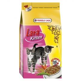 LARA полнорационный сухой корм для котят, курица