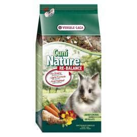 VERSELE-LAGA Cuni Nature Re-Balance - корм для кроликов, склонных к пищевой аллергии и склонных к лишнему весу (700г)