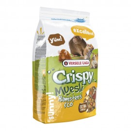 VERSELE-LAGA Crispy Muesli Hamsters & Co - полноценный корм для хомяков и других грызунов (400г)
