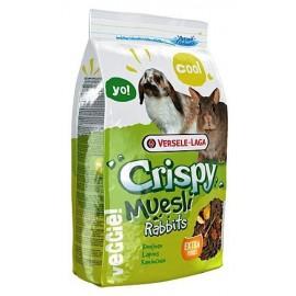 VERSELE-LAGA Crispy Muesli Rabbits - полноценный корм для кроликов (400г)