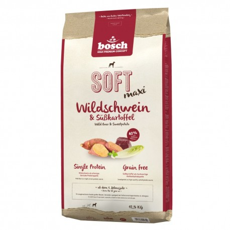 Bosch Soft+ Maxi Wild Boar & Sweetpotato (Бош Софт+ Макси Дикий кабан и Батат)