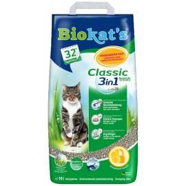 Biokat's Classic 3в1 Fresh, 10л (на 32 дня)