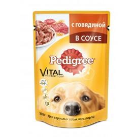 Пресервы Pedigree с Курицей (упаковка 24 штуки по 100г)