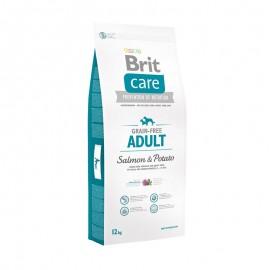 Brit Care Grain-free Adult Salmon & Potato - беззерновой корм для взрослых собак всех пород (лосось, картофель)