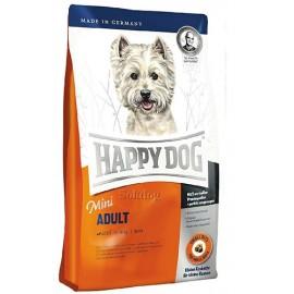 Happy Dog Mini Adult - корм для взрослых собак мелких пород до 10 кг (птица, лосось и картофель)