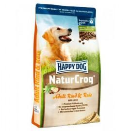Happy Dog Naturcroq Rind & Reis - легкоусвояемый полнорационный корм (говядина и рис)
