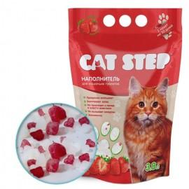 Cat Step Sacura - силикагелевый наполнитель для кошек, 3,8л.
