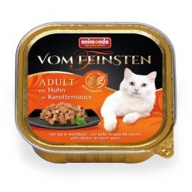 Vom Feinsten Adult Grain-free - с курицей в морковном соусе, 100г