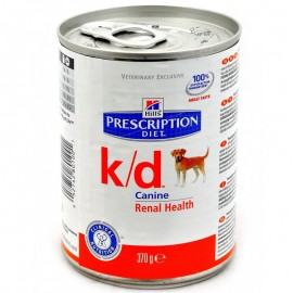 Консервы Hill's PD Canine k/d - для собак для лечения заболеваний почек, ранних стадий сердечных заболеваний, 370 г