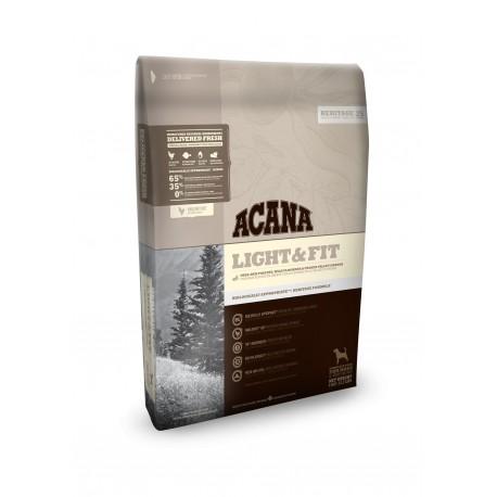Acana Light@Fit - облегченный корм для взрослых собак всех пород