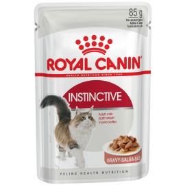 Royal Canin Instinctive (Инстинктив) - кусочки в соусе для взрослых кошек, 85 г