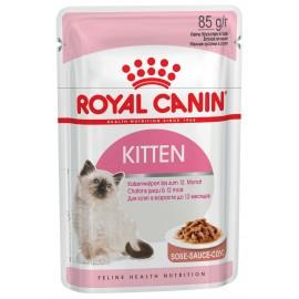 Пресервы Royal Canin Kitten Instinctive (Киттен Инстинктив) для котят в соусе, 85 г