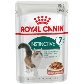 Royal Canin Instinctive (Инстинктив)+7, кусочки в соусе, 85 г