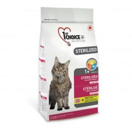 1st Choice Adult Sterilised - беззерновой корм для стерилизованных кошек (курица с бататом)