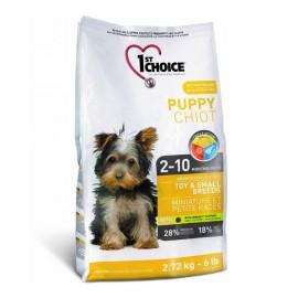 1st Choice Puppy - корм для щенков миниатюрных и мелких пород (курица)