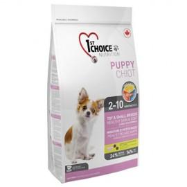 1st Choice Puppy - корм для щенков декоративных пород (ягнёнок, рыба и рис)