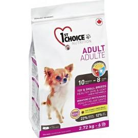 1st Choice - корм для взрослых декоративных собак (ягнёнок, рыба и рис)