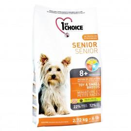 1st Choice - корм для пожилых собак миниатюрных и мелких пород (курица)