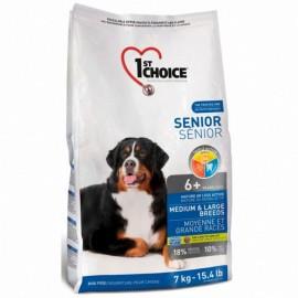 1st Choice - корм для пожилых собак средних и крупных пород (курица)