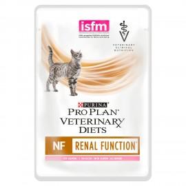 Purina Pro Plan Veterinary Diets NF Renal Function с лососем (упаковка 40 штук по 85г)