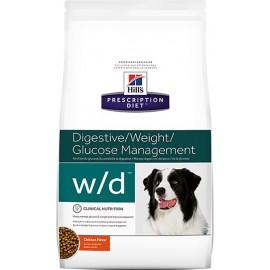 Hill's Prescription Diet w/d Digestive/Weight Management для собак