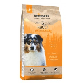 Chicopee Classic Natural Line Adult Chicken & Rice - корм для собак с птицей и рисом
