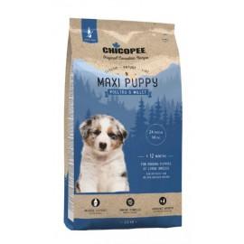 Chicopee Classic Nature Line Maxi Puppy Poultry & Millet - корм для щенков крупных пород с птицей и просо