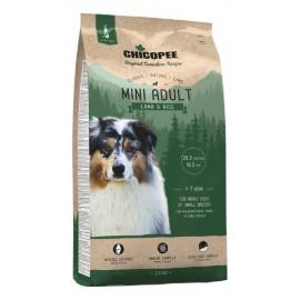 Chicopee Classic Nature Line Mini Adult Lamb & Rice - корм для собак мелких пород с ягненком и рисом