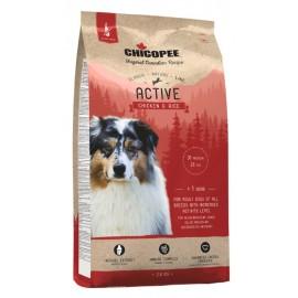 Chicopee Classic Nature Line Active Chicken & Rice - корм для активных собак всех пород с курицей и рисом