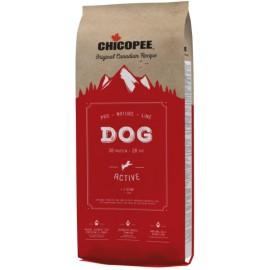 Chicopee Pro Nature Line Active - корм для активных собак всех пород с птицей и рисом
