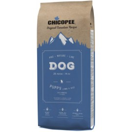 Chicopee Pro Nature Line Puppy Lamb & Rice - корм для щенков всех пород с ягненком и рисом
