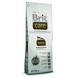 Brit Care Grain-free Adult Venison & Potato - беззерновой корм для взрослых собак всех пород (оленина, картофель)