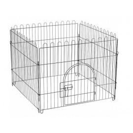 Triol K1 Клетка-вольер для животных, 4 секции, эмаль, 840*690мм