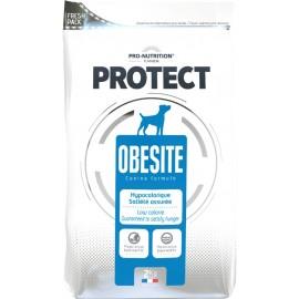 Flatazor Protect OBESITE -лечебно-профилактический корм для собак, нуждающихся в снижении веса (курица, утка и индейка)